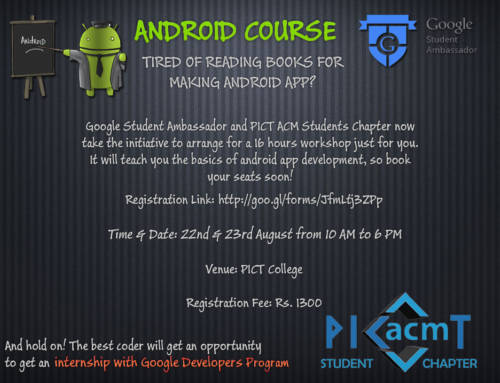 Android Course Poster