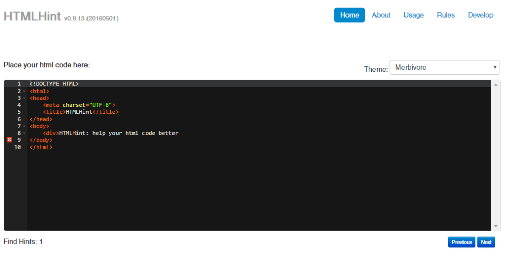 html-hint-error-detect
